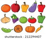 illustration of the healthy... | Shutterstock .eps vector #212294407