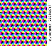 Cmyk Circles. Abstract Colorfu...