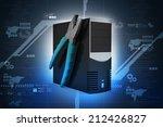 computer repair service concept ...   Shutterstock . vector #212426827