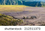 hindu temple at mount bromo... | Shutterstock . vector #212511373