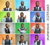 man mood  behavior changes ... | Shutterstock . vector #212551663