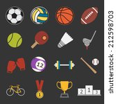 sport icon | Shutterstock .eps vector #212598703