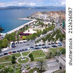mediterraanean town | Shutterstock . vector #212626087