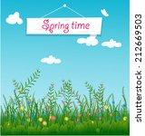 flowers | Shutterstock .eps vector #212669503
