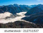 Mountains Ski Resort. Beautifu...