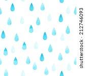 rain blue seamless vector... | Shutterstock .eps vector #212746093
