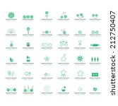 sweets icons set   isolated on... | Shutterstock .eps vector #212750407