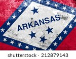 arkansas state flag with a... | Shutterstock . vector #212879143
