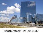 atlantic city  new jersey  usa  ... | Shutterstock . vector #213010837