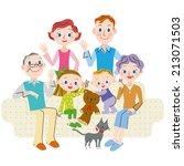 the third generation good... | Shutterstock .eps vector #213071503