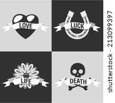 vector illustration icon set of ... | Shutterstock .eps vector #213099397