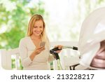 family  parenthood  technology... | Shutterstock . vector #213228217