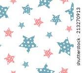 vector gentle vintage seamless... | Shutterstock .eps vector #213270913