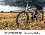 E Bike Before Storm