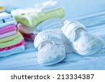 baby clothes | Shutterstock . vector #213334387