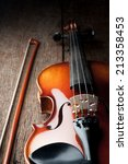 Closeup New Classical Violin O...