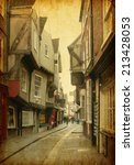 the shambles  a medieval street ...