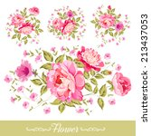 Wreath Set Of Flowers For Your...