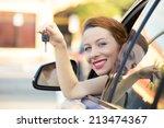 closeup portrait happy  smiling ... | Shutterstock . vector #213474367