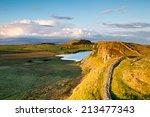 Hadrians Wall In Northumberlan...