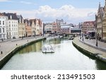Belgium. The Embankments Of...