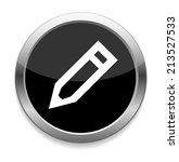 pencil pen icon | Shutterstock . vector #213527533