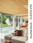 mountain house  modern... | Shutterstock . vector #213531193