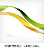 business wave corporate... | Shutterstock . vector #213548863