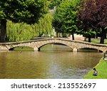 Stone Footbridge Across The...