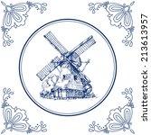 colección,cerámica de delft,dibujado,mano,línea,rústico,azulejo,molino de agua,voluntad