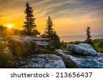 Sunrise At Bear Rocks Preserve...