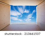 thinking outside the box ... | Shutterstock . vector #213661537
