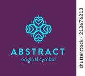 original abstract multipurpose... | Shutterstock .eps vector #213676213