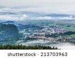 Kamnik Through The Fog In The...