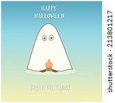 halloween cupcake | Shutterstock . vector #213801217