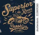 t shirt graphic | Shutterstock .eps vector #213809263