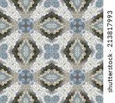 Glass Mosaic Kaleidoscopic...