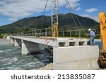 Builders Construct A Concrete...