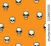 vector seamless background... | Shutterstock .eps vector #213863203
