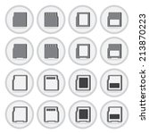 vector of flat icon  compact...