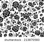 flower pattern | Shutterstock .eps vector #213870583
