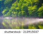 Fog On The Lehigh River In...