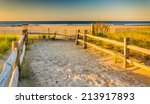 Path Over Sand Dunes To The...