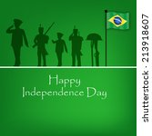 Brazil's Independence Day background