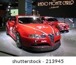 Постер, плакат: Alfa Romeo GT and