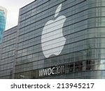 san francisco   june 3  apple... | Shutterstock . vector #213945217