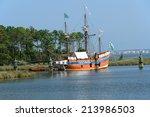 The Elizabeth Ii Sailing Ship...