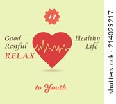 vector illustration of healthy... | Shutterstock .eps vector #214029217