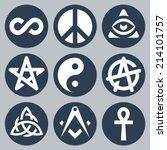 symbols set | Shutterstock .eps vector #214101757