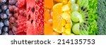 healthy food background.... | Shutterstock . vector #214135753